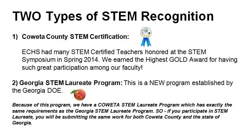 STEM Certification for Teachers: Coweta County and Georgia STEM ...
